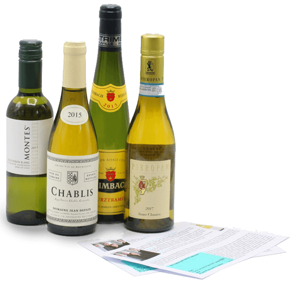 half bottles fine white wines